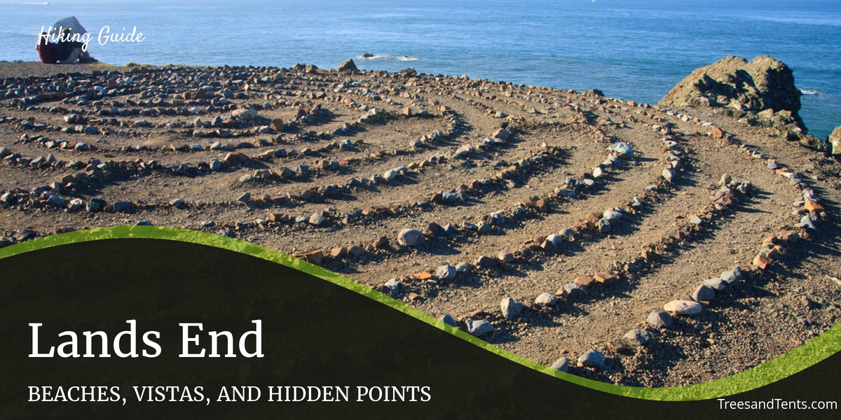 The labyrinth at Lands End