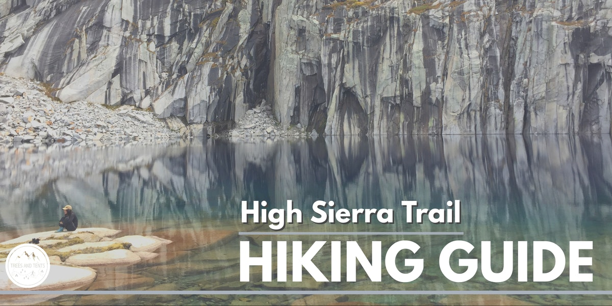 The High Sierra Trail is a 72-mile backpacking route that begins at Sequoia National Park and ends at Mount Whitney.