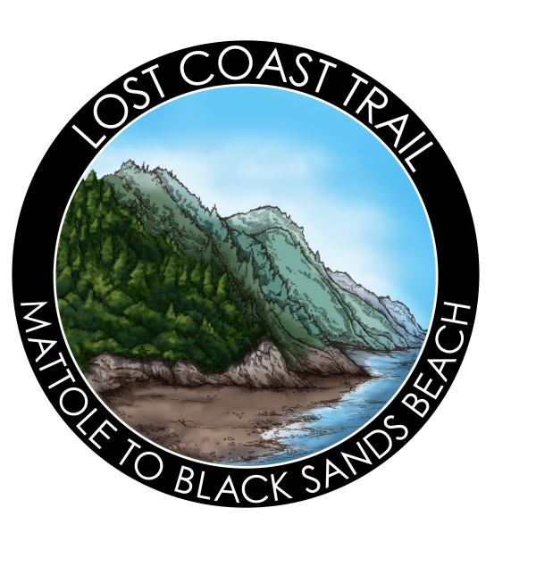 Lost Coast Trail Sticker