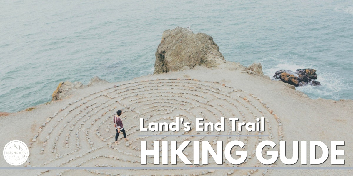 The Land's End Trail in San Francisco has great views of the Golden Gate Bridge