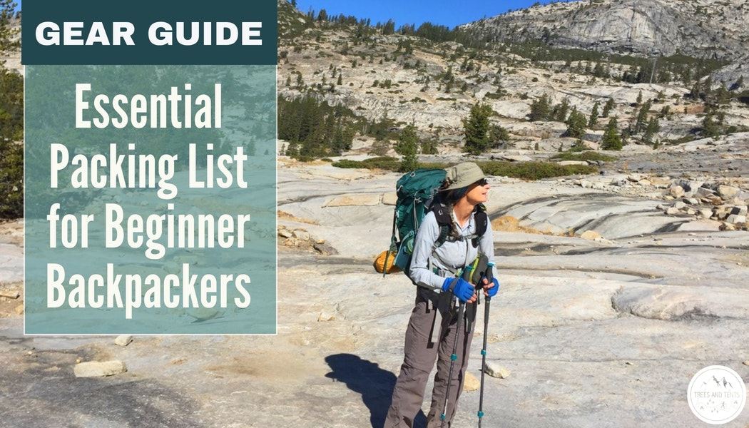 This packing list for beginner backpackers has everything you need for your first backpacking trip.