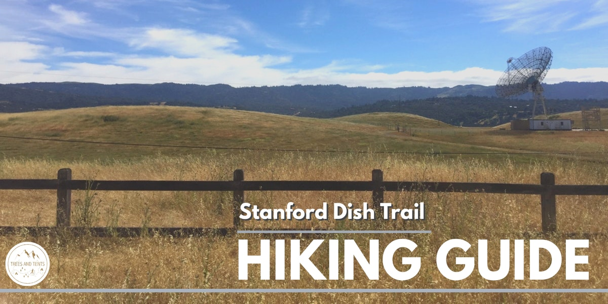 The Dish Trail is a moderate 3.6 mile loop in the hills above the Stanford University campus.