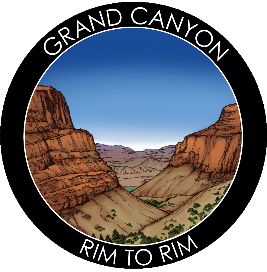 Grand Canyon - Rim to Rim Sticker