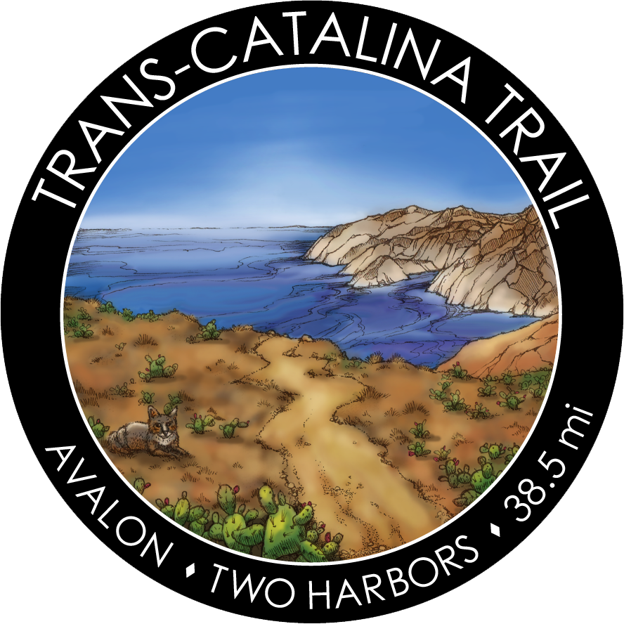Trans Catalina Trail Sticker
