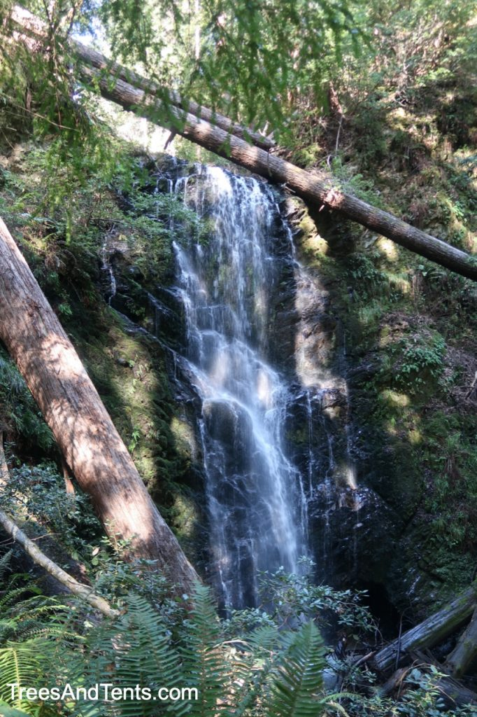 Berry Creek Falls along the Skyline to the Sea Trail at Big Basin Redwoods