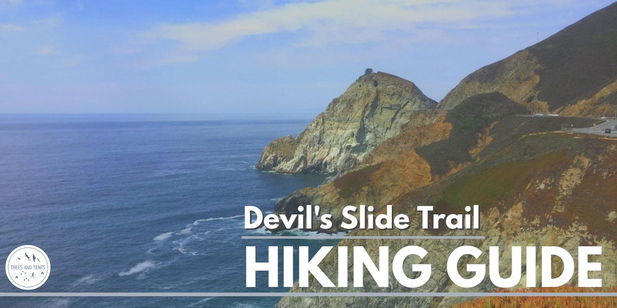 The Devil's Slide Trail in Pacifica is an easy coastal walk with amazing views