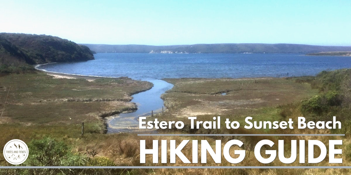 The Estero Trail to Sunset Beach in Point Reyes National Seashore offers coastal views and great wildlife sightings.