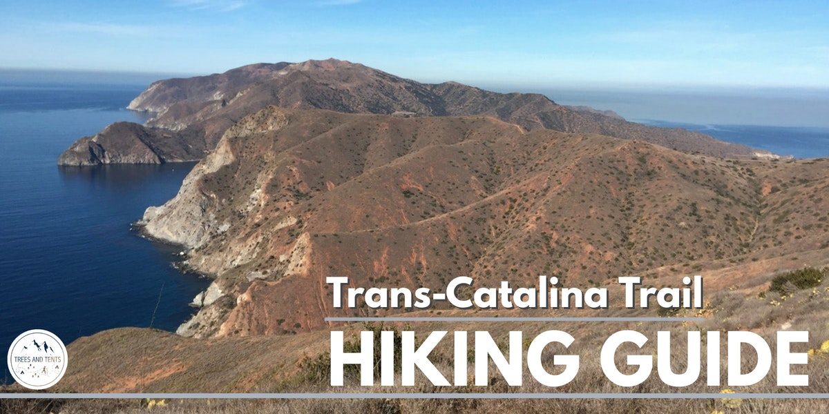 Catalina Island on the Trans-Catalina Trail
