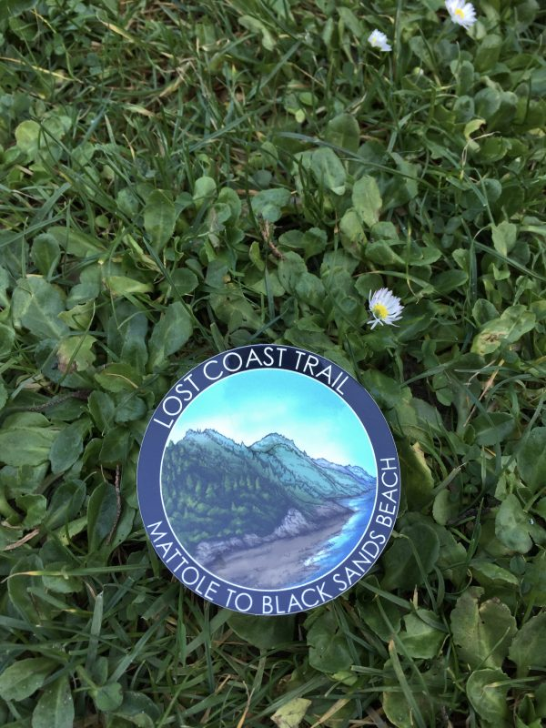 Lost Coast Trail Sticker