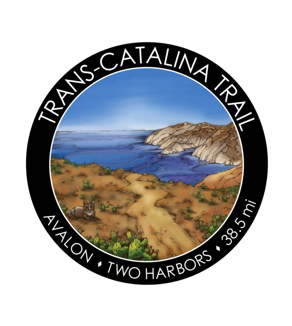 Illustration for Trans-Catalina Trail sticker