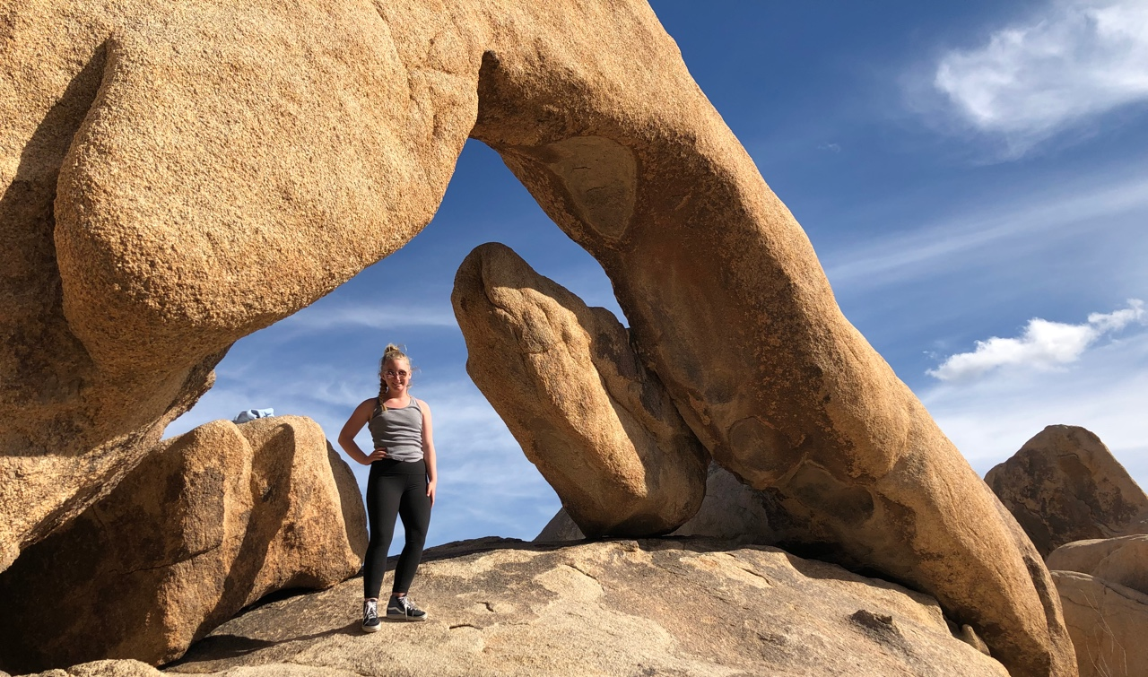 Arch Rock at Joshua Tree National Park