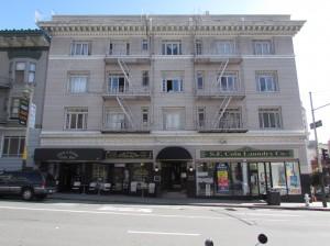 891 Post Street is where Dashiell Hammett wrote most of The Maltese Falcon. Part of the Maltese Falcon Walking Tour