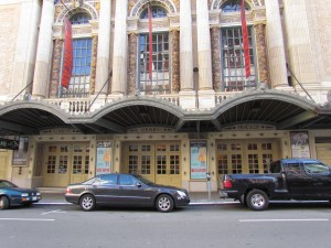 The Geary Theatre in San Francisco was one of the locations in Dashiell Hammett's Maltese Falcon