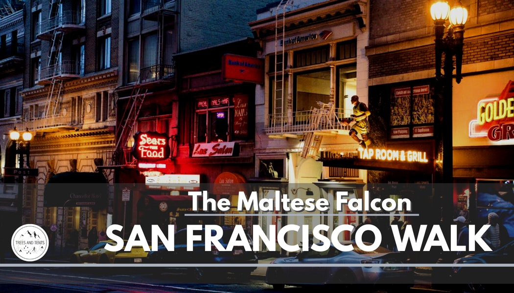 The Maltese Falcon tour is an 3.5 mile urban hike in San Francisco