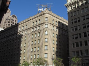 The Palace Hotel in San Francisco is mentioned several times in The Maltese Falcon