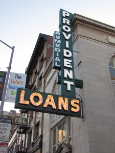 Remedial Pawn Shop (Provident Loans) is mentioned in The Maltese Falcon