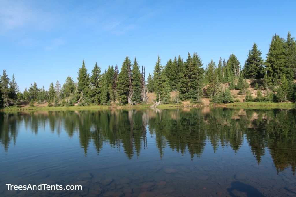 Matthieu Lake in the Three Sisters Wilderness