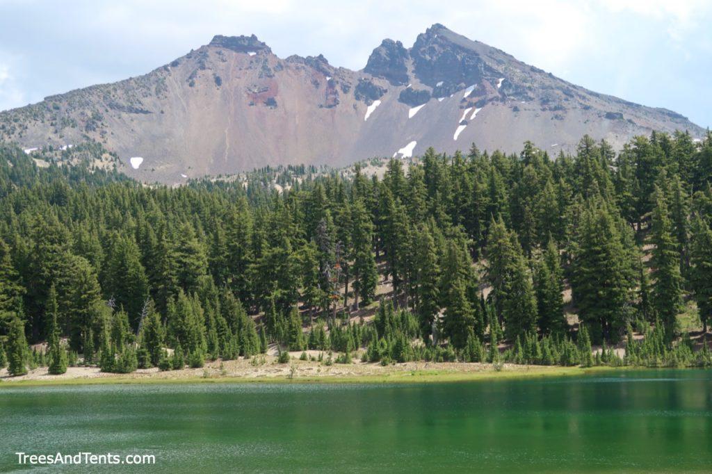 Green Lakes and Broken Top Mountain