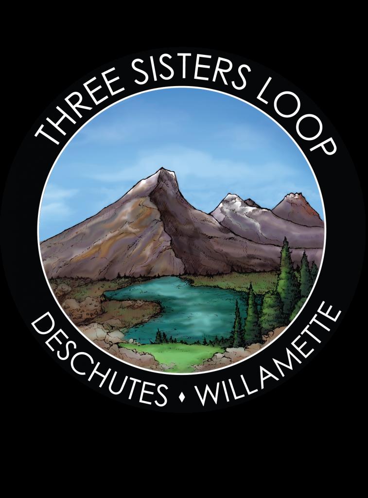 Three Sisters Loop Hiking Sticker