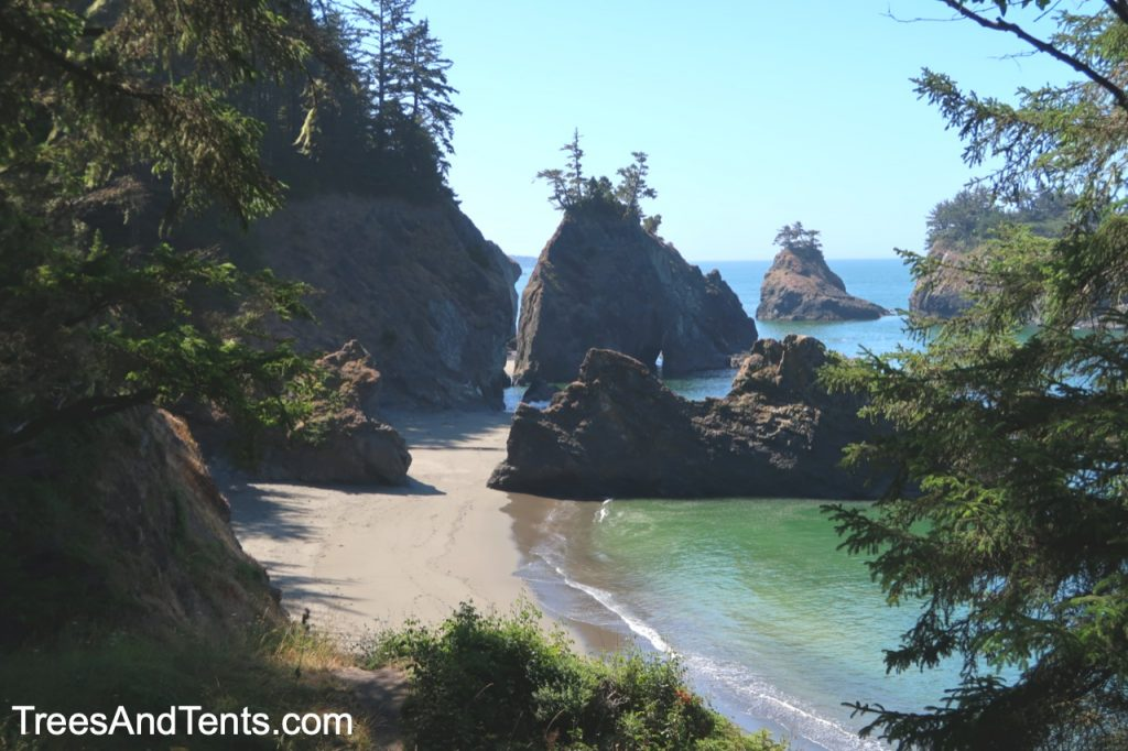Just one of the incredibly beautiful beaches along the Samuel H. Boardman Scenic Corridor in Oregon