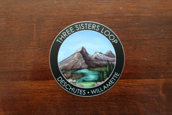 Photo of the Three Sisters Loop hiking sticker