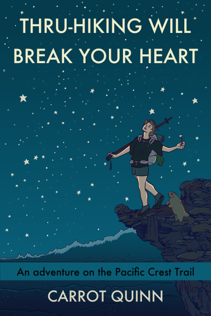 Book cover for Thru Hiking Will Break Your Heart