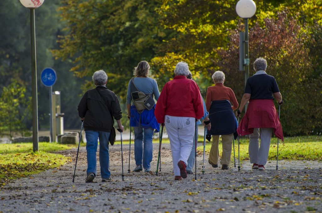 forming a daytime walking group can help you get your nature fix this winter