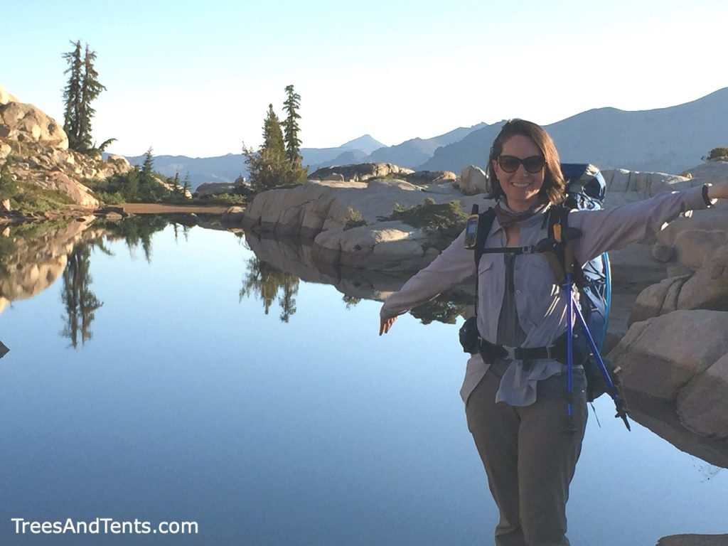 Backpacking lets you see beautiful locations that most people will never see.