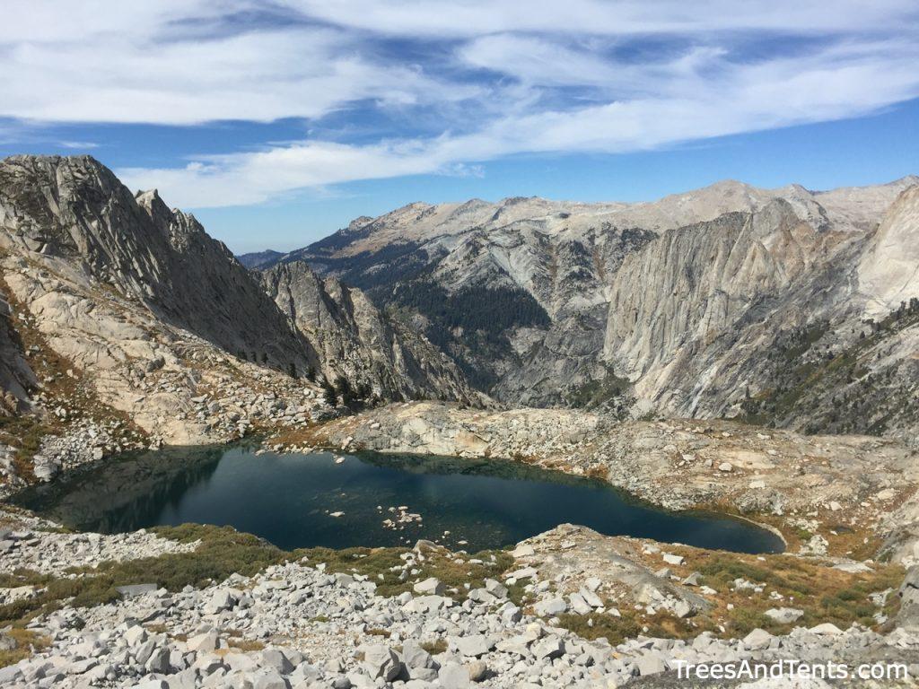 Views along the High Sierra Trail