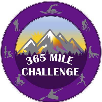 The 365-mile challenge is a hiking challenge where you walk one mile each day.