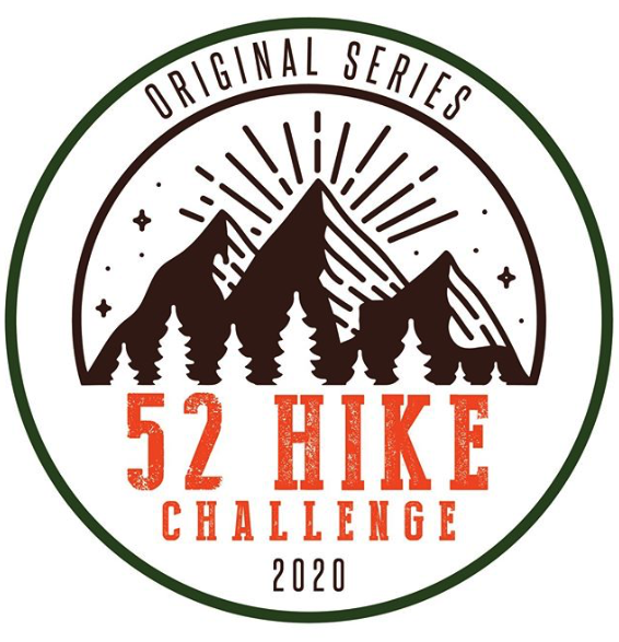 The 52 hike challenge involves going on one hike each week.