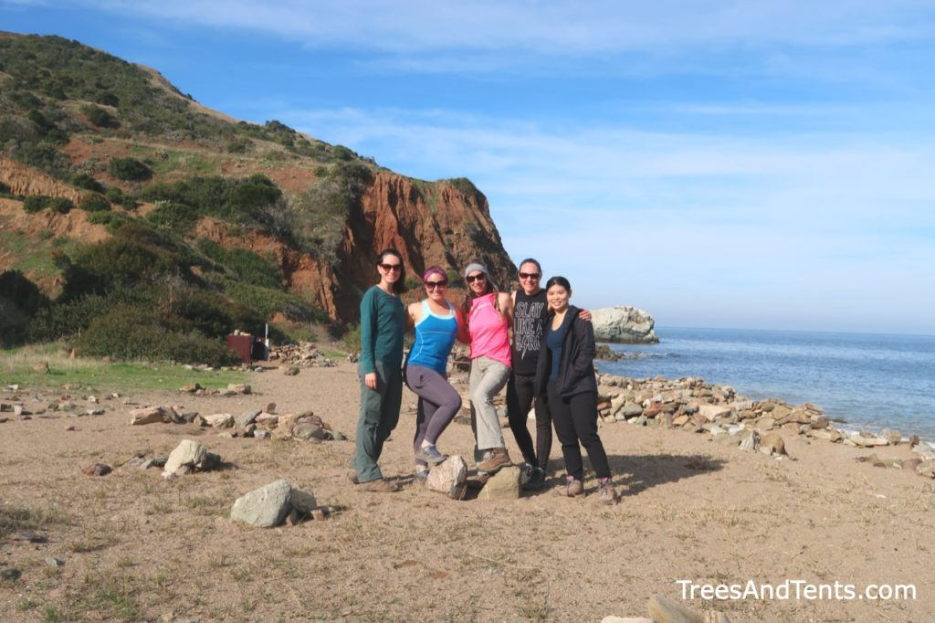 Women-only hiking groups are usually very friendly and welcoming.