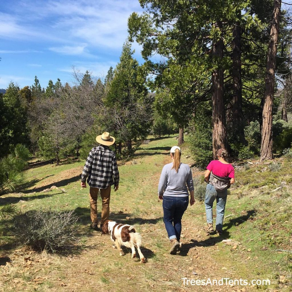 Connecting with hikers who live near or volunteer with long-distance trails can be a great way to meet people.