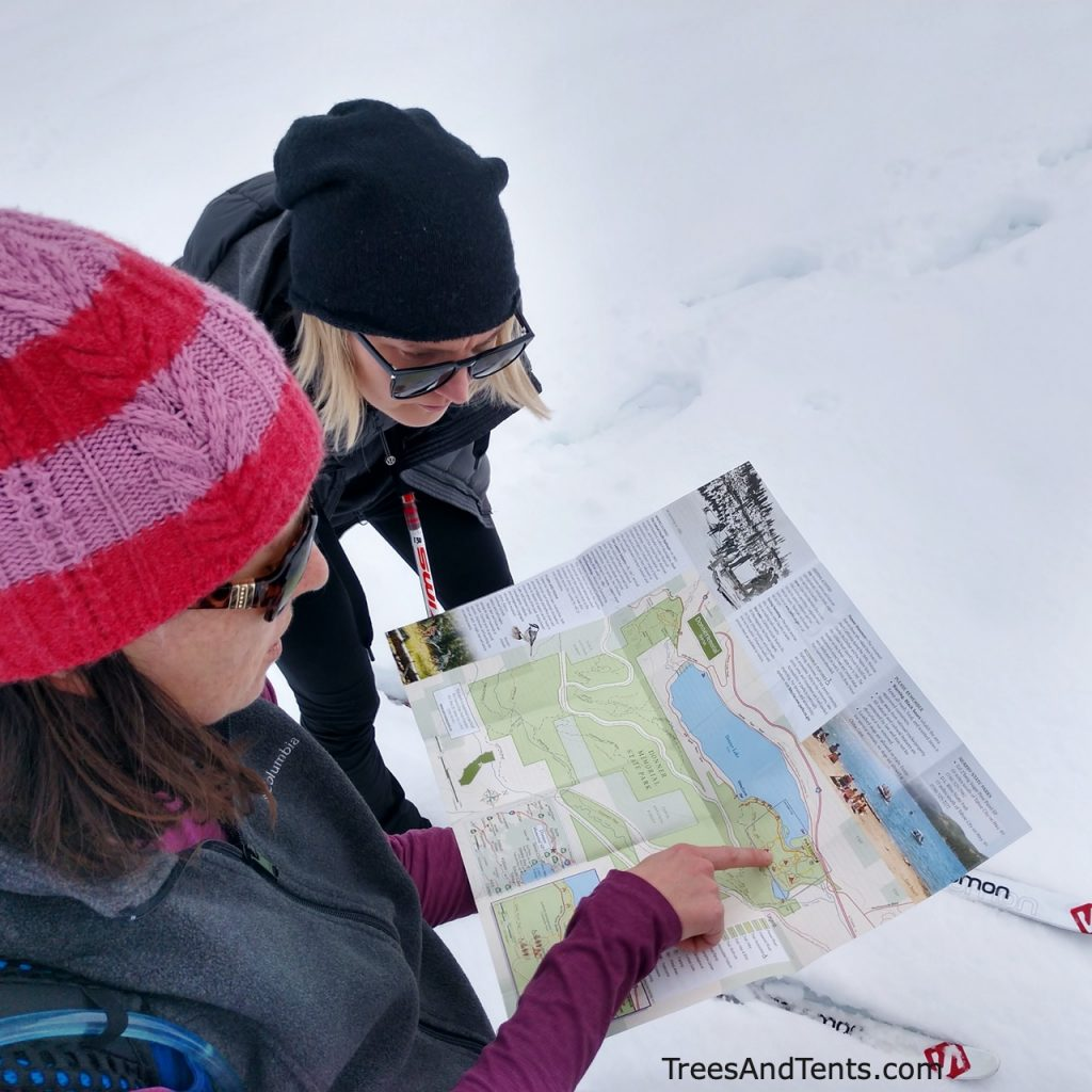 Learning basic navigation skills and map reading is an essential skill every hiker should learn.