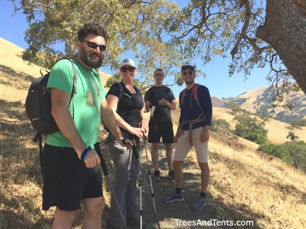 Co-ed and family groups are a great way to meet other hikers.
