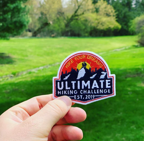 The Ultimate Hiking Challenge lets people set their own hiking goals.
